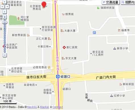 北京新世界商场位置