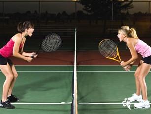 打网球_打网球设计图__广告设计_广告设计_设计图库